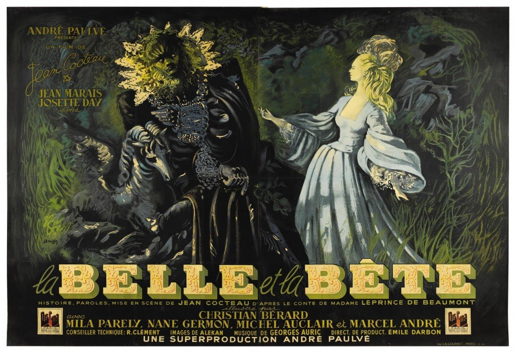 """La Belle et la Bête"" - nagłówek - Francuski przy kawie"