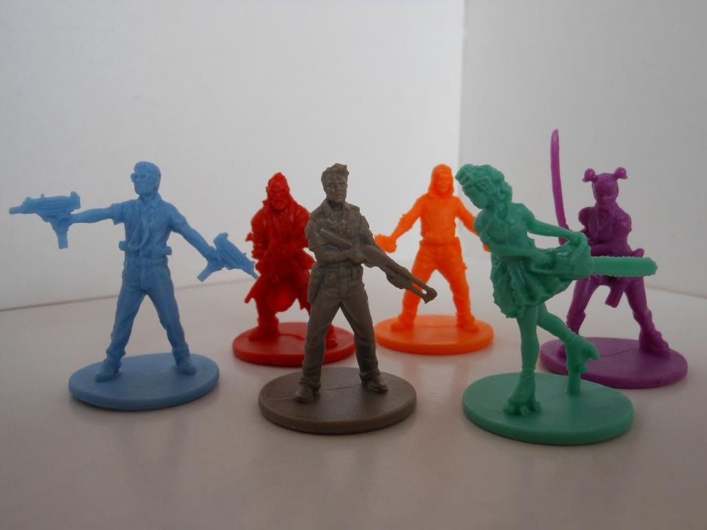 Zombicide characters