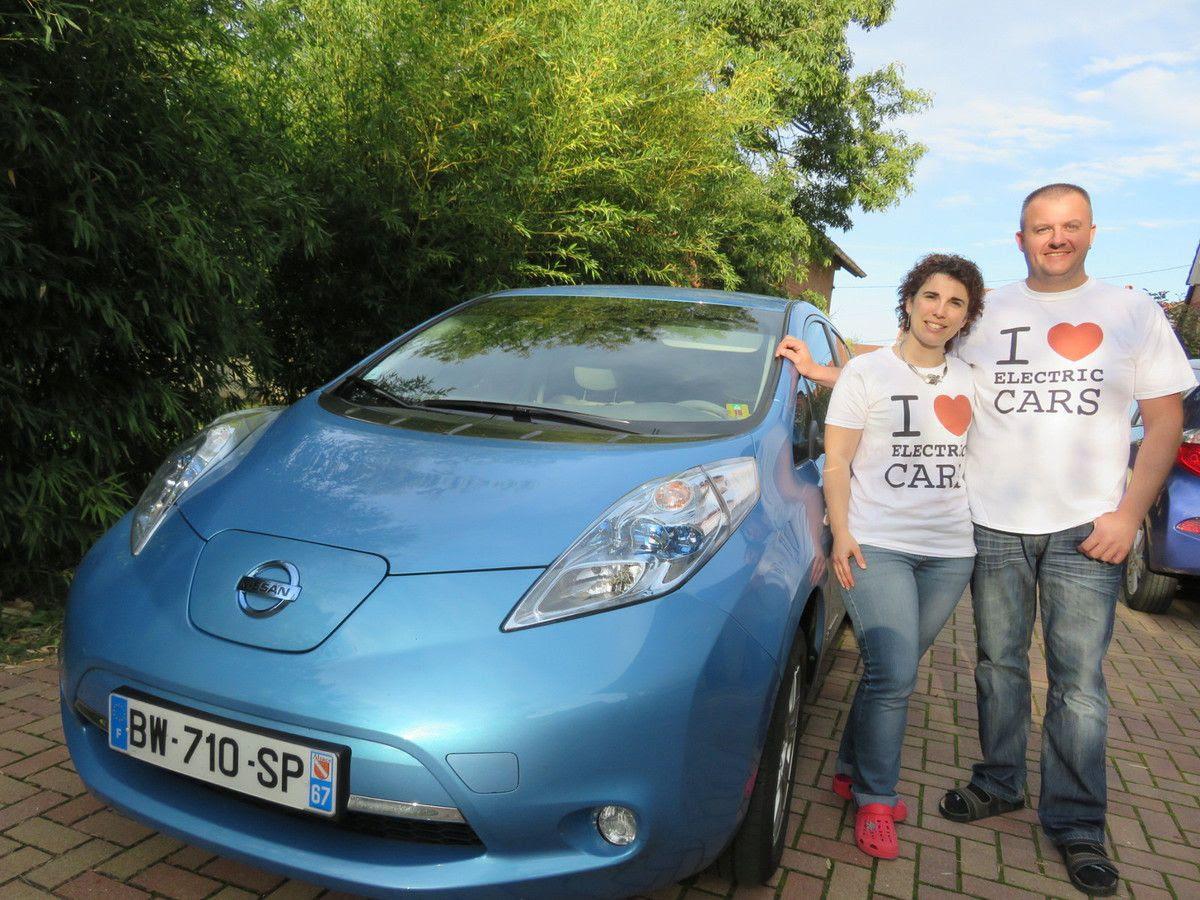 Une journée en voiture électrique