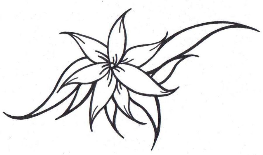 Free Pictures Of Flower Tattoo Designs Download Free Clip Art Free Clip Art On Clipart Library