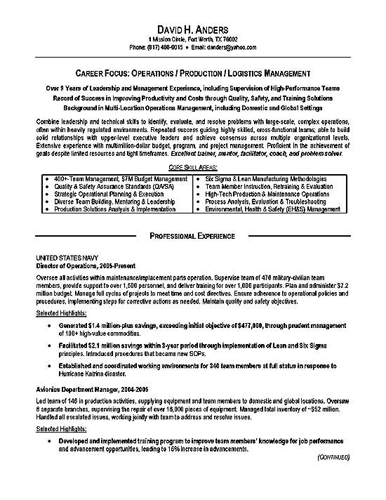 resume example military3a