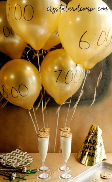 Crystal and Company New Years Eve Party Idea for Kids