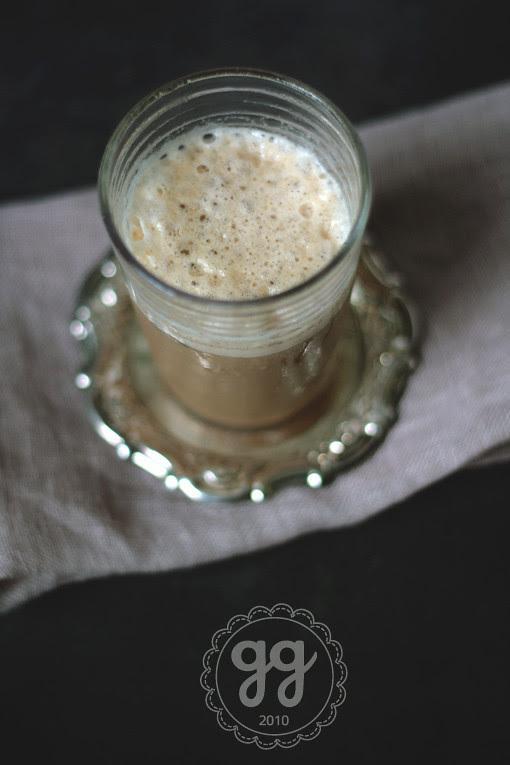 caffé freddo (con latte) alla cannella