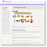 Low Blood Pressure Diet | 10 Diet Tips for Hypotension Low BP