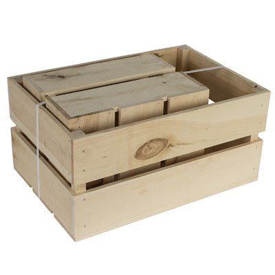 Walnut Hollow rustic crates