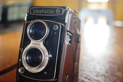 Yashica B in nude