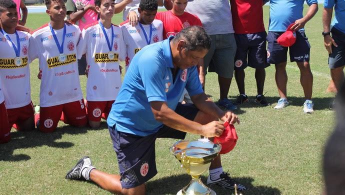 Mirabor Rocha América-RN sub-17 Supercopa (Foto: Canindé Pereira/Divulgação)
