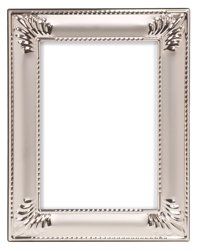 Seashellsmooth Silver Metal Picture Frame 10 34 X 12 34