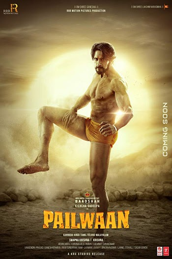 Pailwaan 2019 ORG Hindi Dubbed HDRip 720p 700MB
