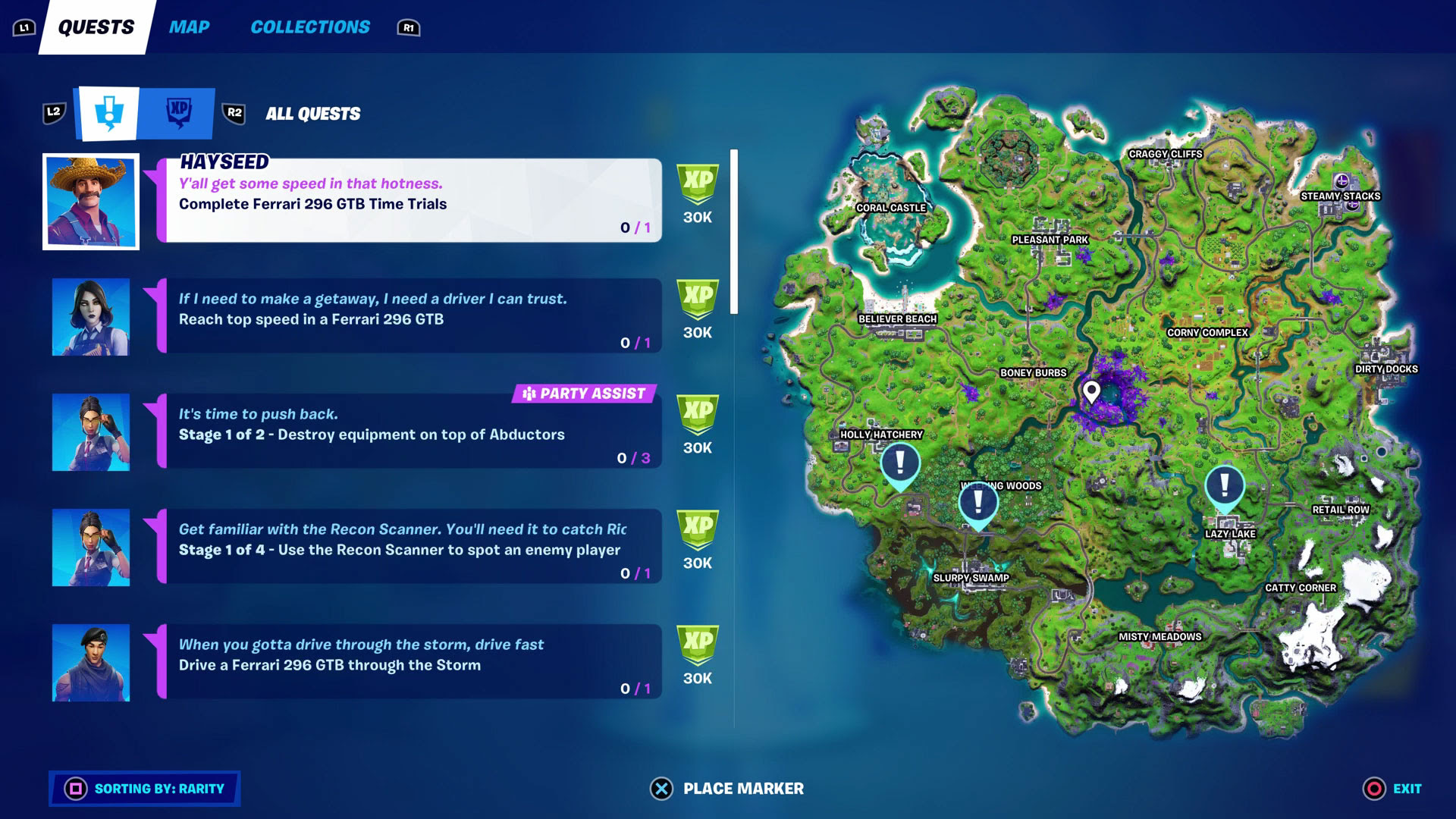 Fortnite Week 7 quests - how to take care of all the Epic Quests and Legendary Quests in Season 7