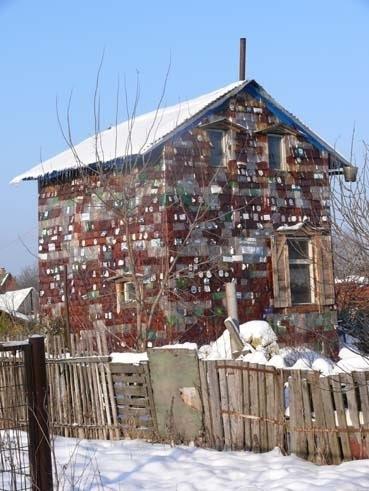 вертикальный домик