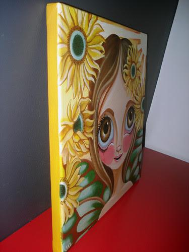 Sunflower Fairy Side