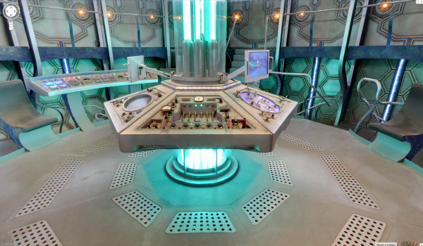 Venture Into The Doctors Tardis Thanks To The Technology