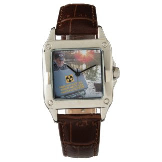 Lake Drain♨️ Nuclear Suitcase Perfect Square Watch