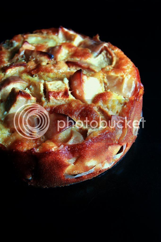 dessert / tea cake - marie helene's apple cake