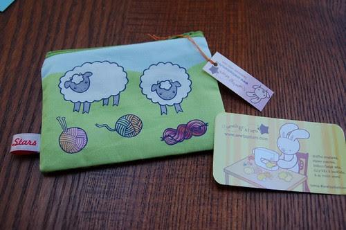 Cute sheepy wallet
