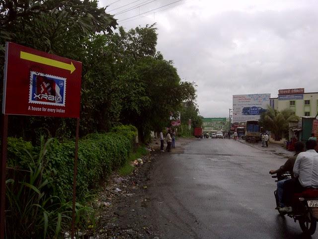 Xrbia on Marunji Kasarsai Road - Nere Dattawadi, approx 7 kms from KPIT Cummins at Hinjewadi IT Park