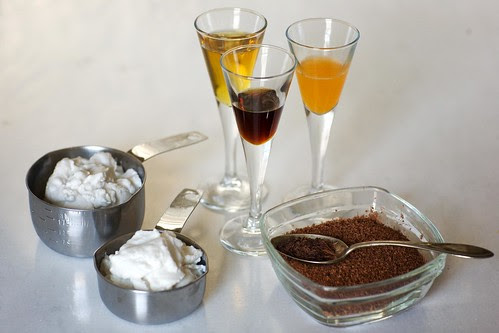 Vegan Ingredients for Hot Chocolate / Chocolate Mousse