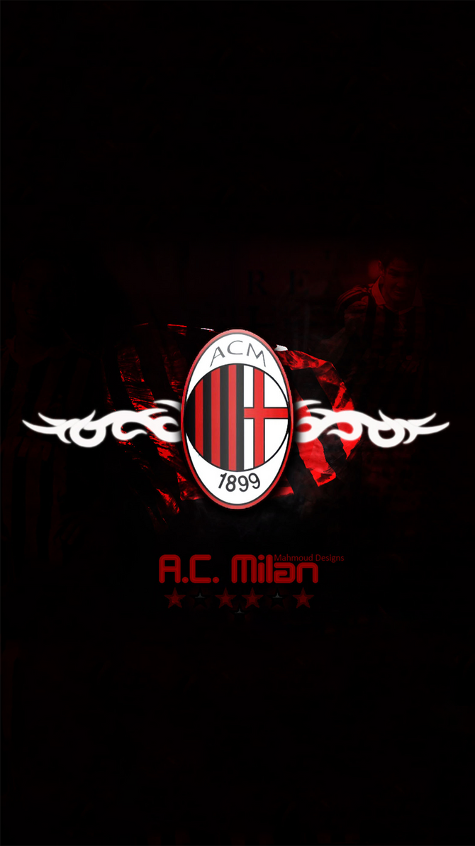 AC Milan Wallpaper iphone 6S by lirking20 on DeviantArt