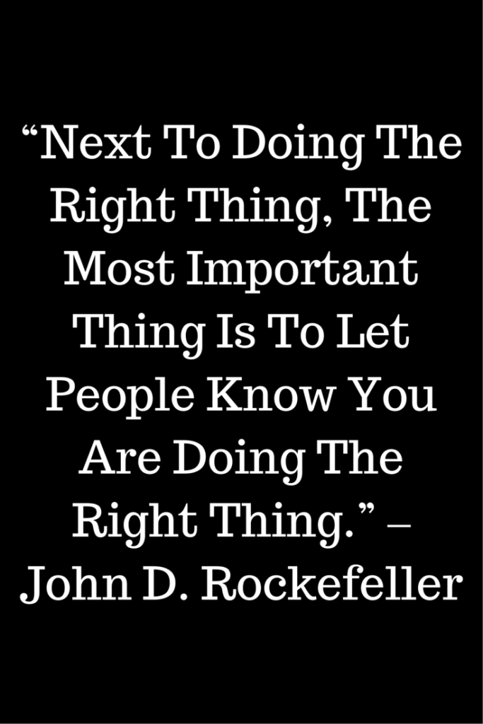 john d rockefeller favorite quote