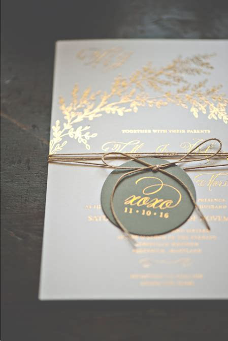 What is Foil Stamping? Foil Wedding Invitations Explained.