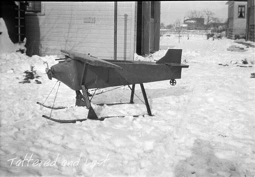 plane sled_tatteredandlost
