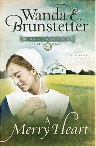 book cover of   A Merry Heart    (Brides of Lancaster County)  by  Wanda E Brunstetter