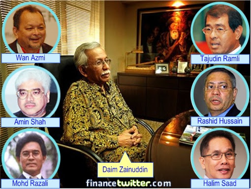 Malaysia Airlines Bailout - Daim Zainuddin and his Protege Cronies