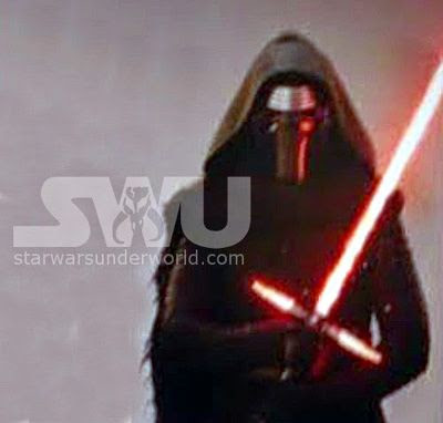 A promo pic for the Sith Lord from STAR WARS: THE FORCE AWAKENS.