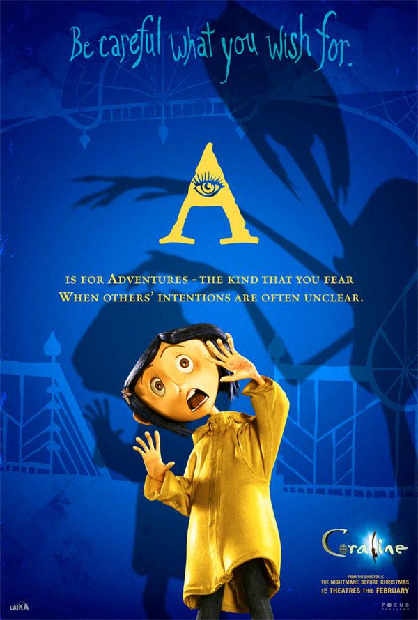 All the 'Coraline' Alphabet Movie Posters — GeekTyrant