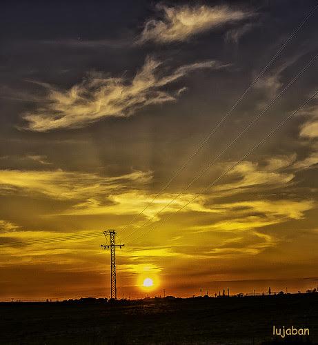 Great sunset... by lujaban