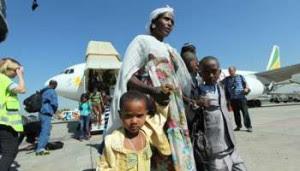 Judeus etíopes de vir para Israel