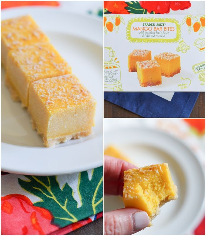 Trader Joe's mango bar bites ... what to buy (or not) at #traderjoes