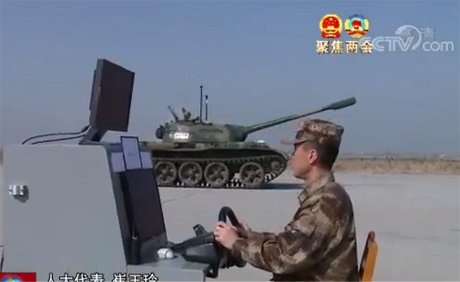 China has developed first unmanned main battle tank MBT Type 59 925 001