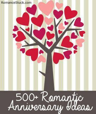 A complete list of anniversary ideas including traditional