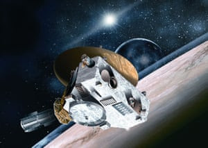 Artist's impression of the New Horizons spacecraft.