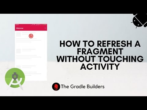 How to Refresh a Fragment in Android Studio(2021)