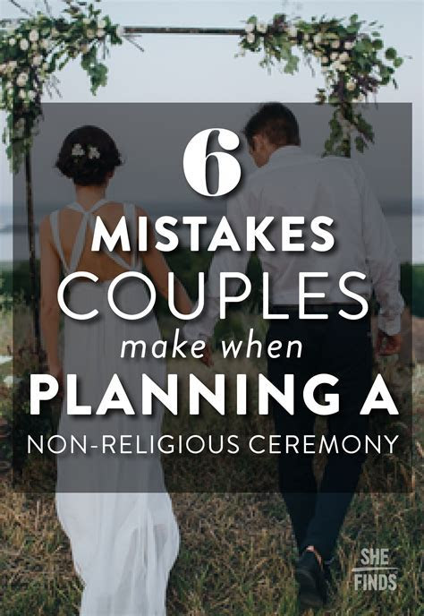 How To Plan A Non Religious Wedding