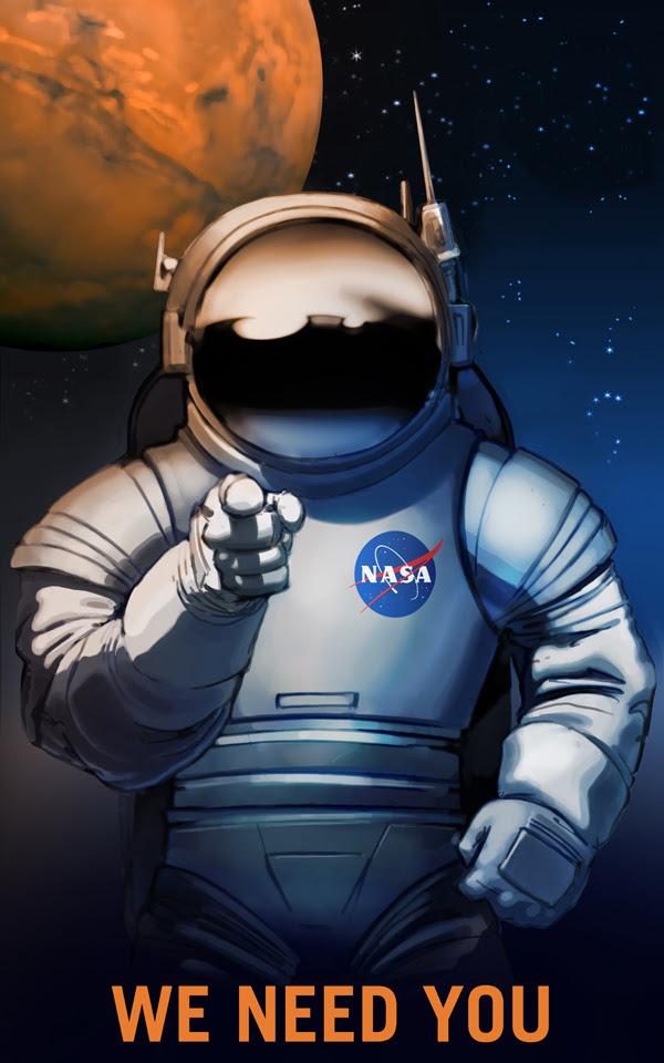 Chúng tôi cần bạn. Chúng tôi cần nhiều nhân lực và nguồn lực cho cuộc Đại viễn chinh đến Hỏa Tinh. Nhưng mấu chốt quan trọng, chính là BẠN. Credit: NASA/KSC.