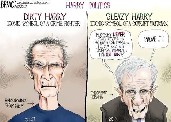 Image result for Dirty Harry Reid