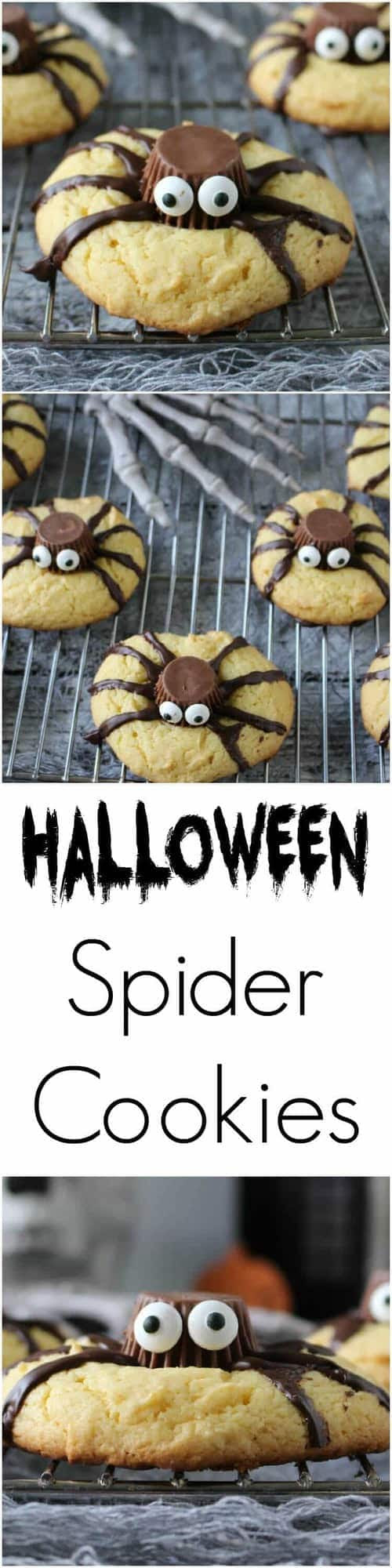 Easy Halloween Spider Cookies - Page 2 of 2 - Princess ...