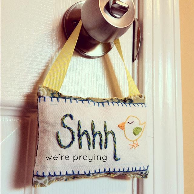 Shhh Doorhanger