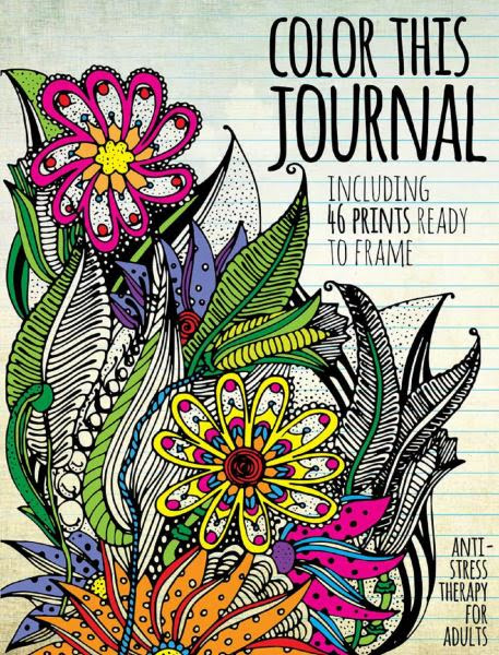 Color this journal coloring book