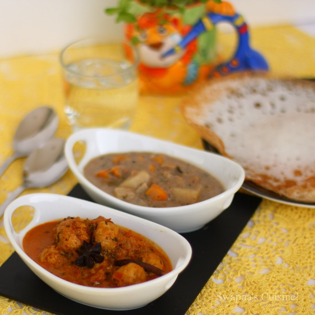 Meatball Curry / Meat Kofta Curry