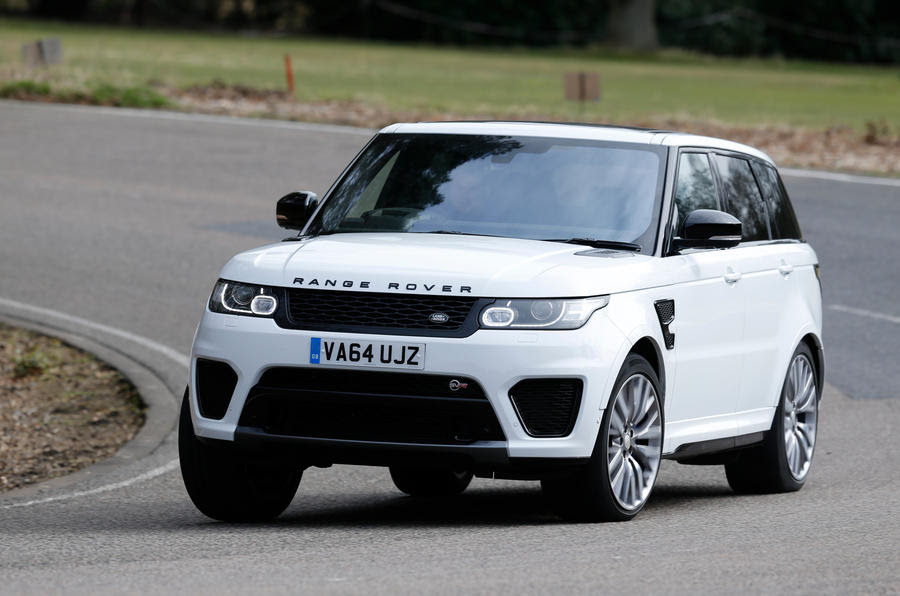 Land Rover Range Rover Sport SVR review