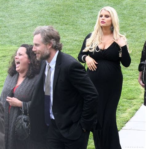 Eric Johnson and Jessica Simpson attended a wedding in LA