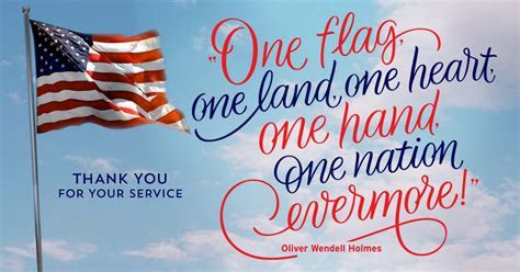 """One Flag, One Land""   Veterans Day eCard   Blue Mountain"