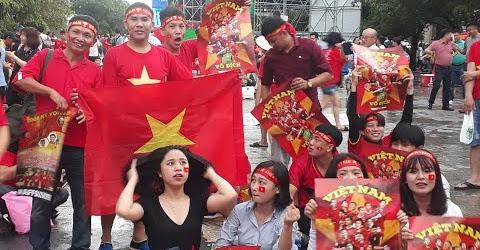 Sài Gòn trước trận chung kết AFF 2018 Việt Nam - Malaysia.