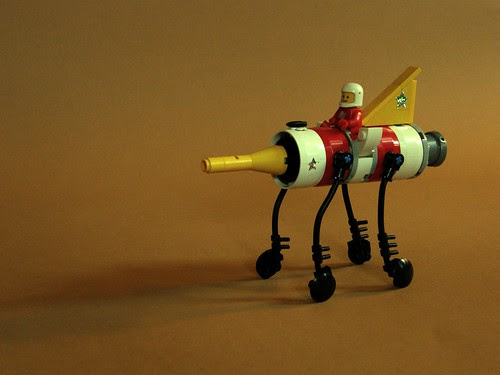 Rocket Engine Rover