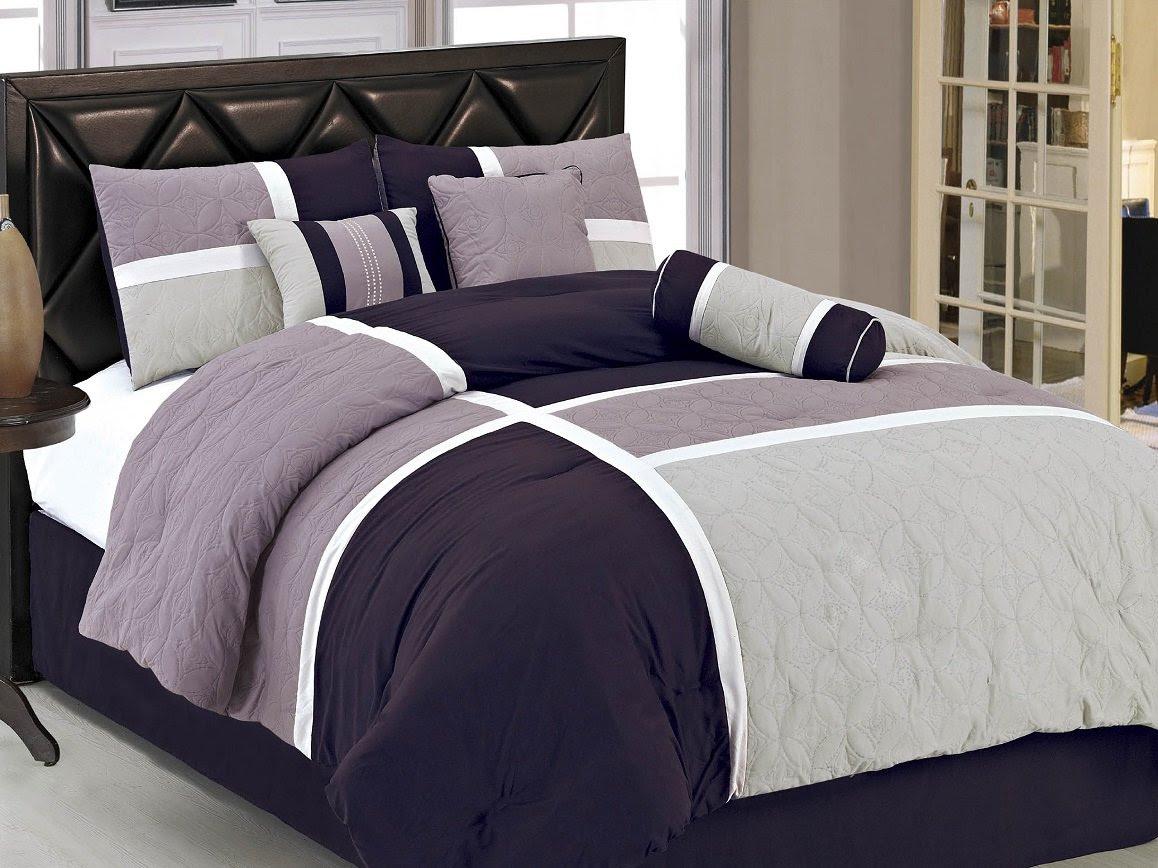 Amazon.com: Purple - Comforters & Sets / Bedding: Bedding & Bath